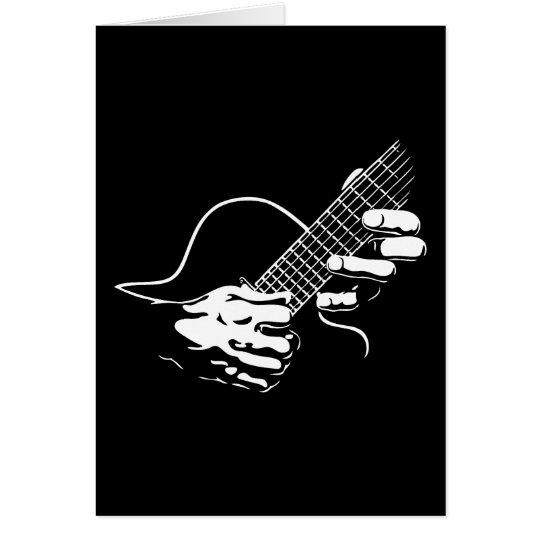 Guitar Hands II Card