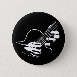 Guitar Hands II Pinback Button