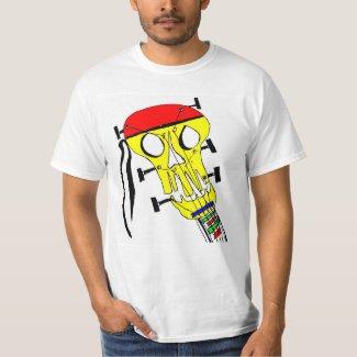 Guitar Head Skull T-Shirt
