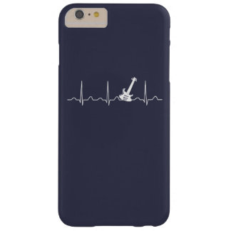 GUITAR HEARTBEAT BARELY THERE iPhone 6 PLUS CASE
