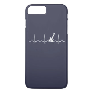 GUITAR HEARTBEAT iPhone 8 PLUS/7 PLUS CASE
