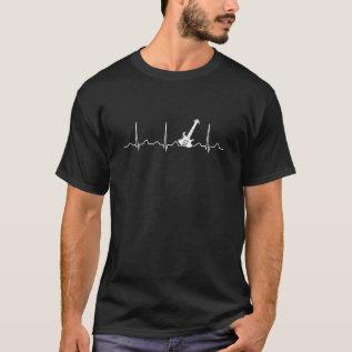 Guitar Heartbeat T-shirt at Zazzle