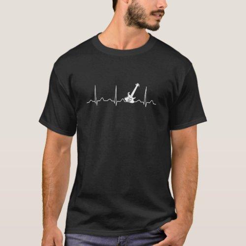 GUITAR HEARTBEAT T_Shirt