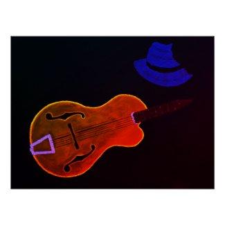 Guitar Heat Poster