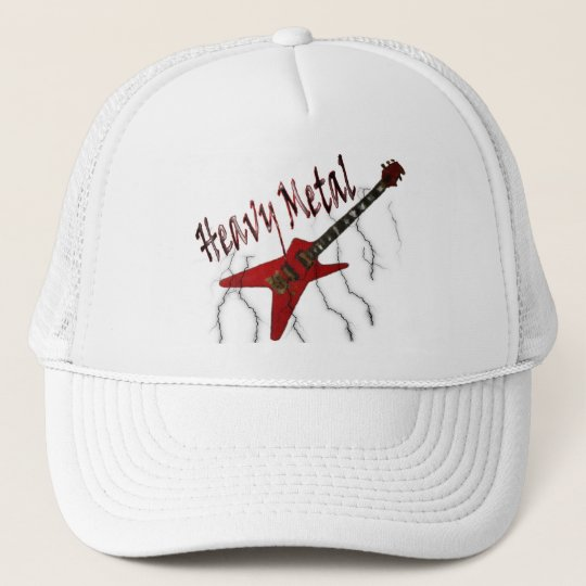 Guitar Heavy Metal Trucker Hat  1ed434cf153