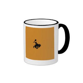 Guitar Hero rodeo cowboy on horseback Ringer Mug