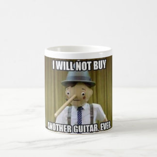 Guitar I will not buy another guitar, ever. Coffee Mug