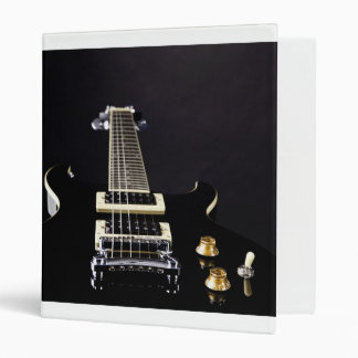 Guitar Image Binder Notebook