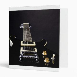 Guitar Image Binder Notebook