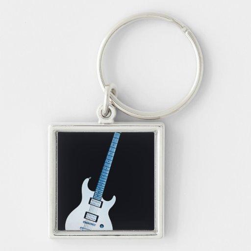 Guitar Image Keychain