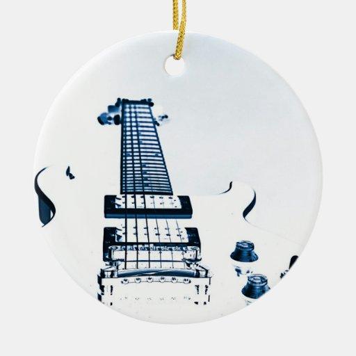 Guitar Image Ornament