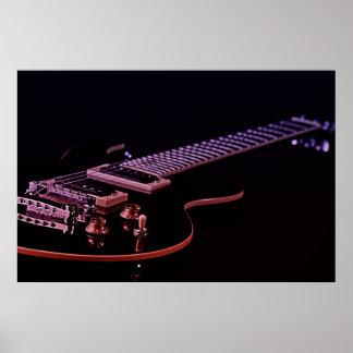 Guitar Image Poster
