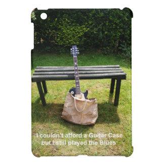 Guitar in a bag design iPad mini cover