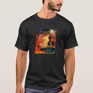 Guitar In Sunlight - Red T-Shirt