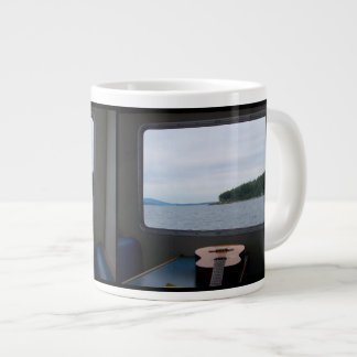Guitar In The San Juans Large Coffee Mug