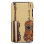 Guitar inlaid with mother-of-pearl, from 'Musical Barely There iPod Case
