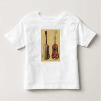 Guitar inlaid with mother-of-pearl, from 'Musical T-shirt