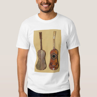 Guitar inlaid with mother-of-pearl, from 'Musical T Shirt
