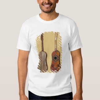 Guitar inlaid with mother-of-pearl, from 'Musical Tee Shirt