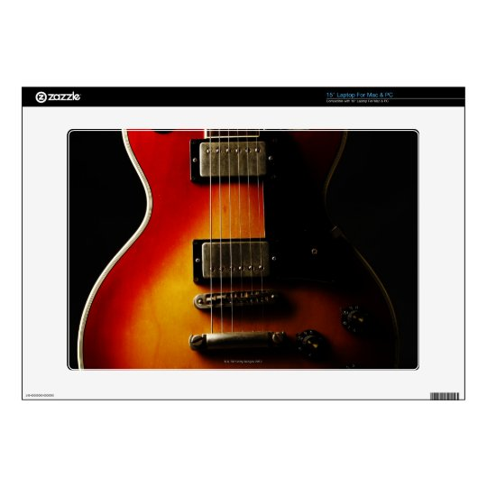 "Guitar Instruments 15"" Laptop Decal"