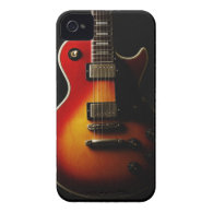 Guitar Instruments iPhone 4 Cover