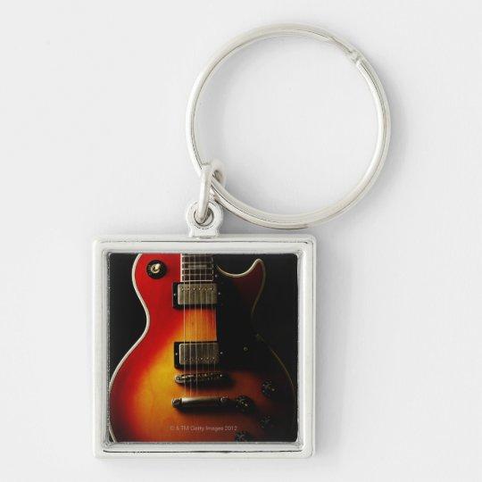 Guitar Instruments Keychain
