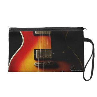 Guitar Instruments Wristlet Purse