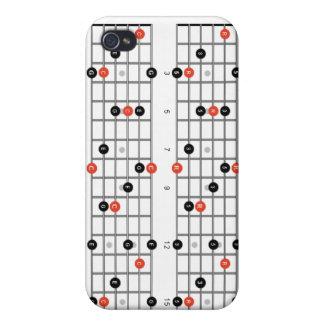 Guitar Intervals iPhone Case