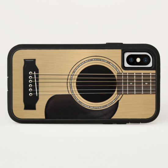 Guitar iPhone X Case