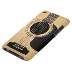 Guitar Ipod Touch Case-mate Case at Zazzle