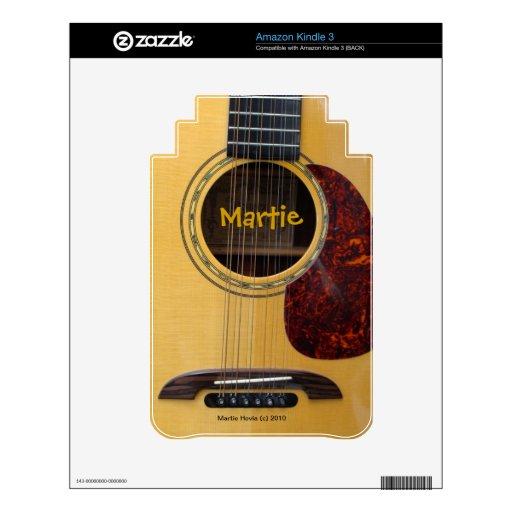 Guitar - Kindle 3 Skin