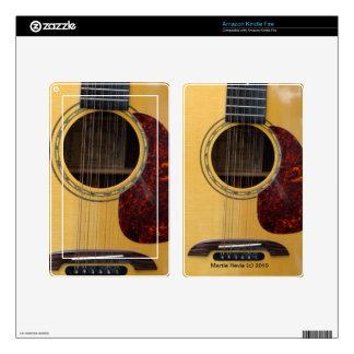 Guitar - Kindle Fire Skin