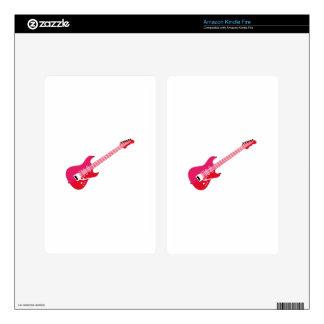 Guitar Kindle Fire Skin
