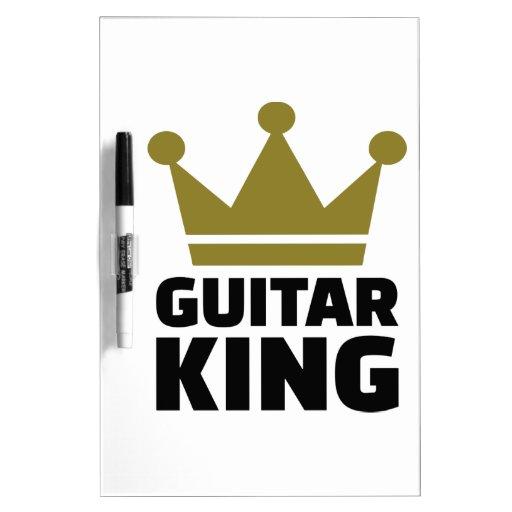 Guitar King crown Dry-Erase Board