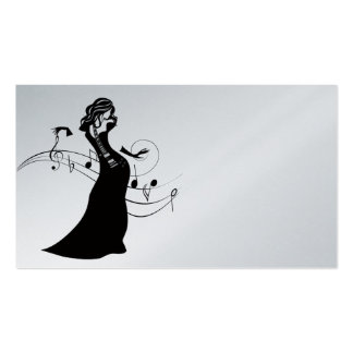 GUITAR LADY BUSINESS CARD