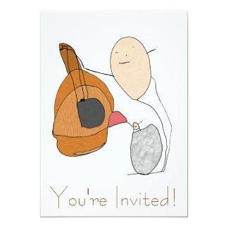 Guitar Lesson Invitation