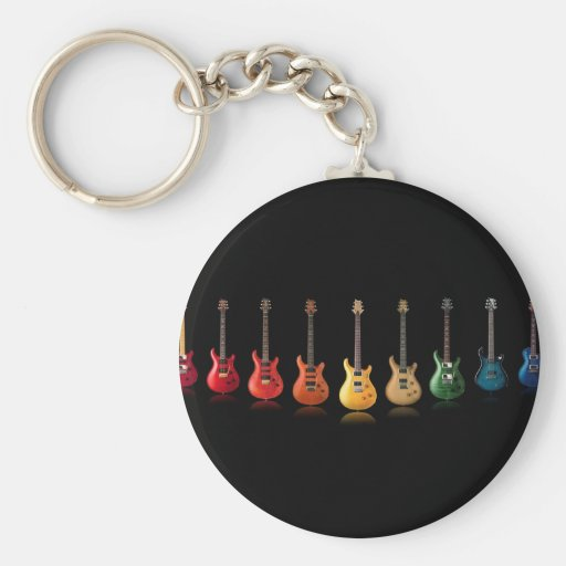 Guitar Lineup Keychains
