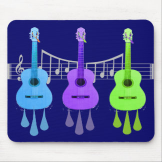 Guitar Lovers Gifts Mousepad
