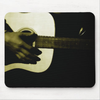 Guitar Lovers, Playing Guitar, Music Mouse Pad