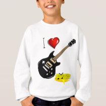 Guitar lovers sweatshirt