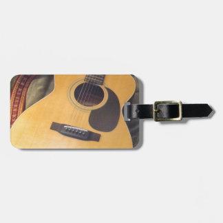 guitar travel bag tags
