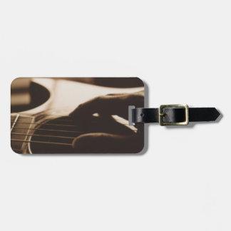 Guitar Luggage Tag