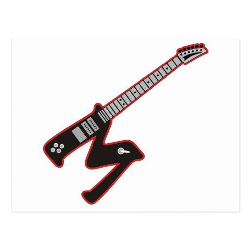 Guitar M Post Card