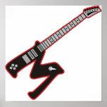 Guitar M Print