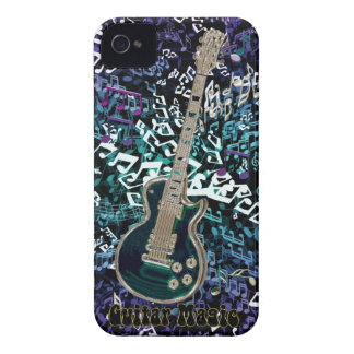 Guitar Magic ~ Chaotic Notes with Electric Guitar Case-Mate iPhone 4 Case