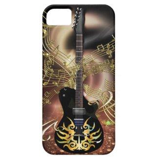 Guitar Magic Golden Notes iPhone 5 Covers