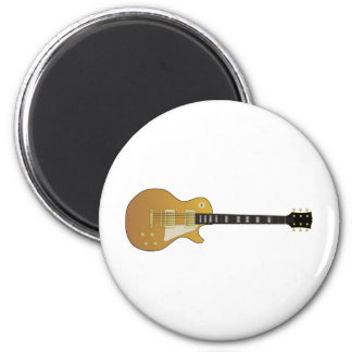 Guitar 2 Inch Round Magnet