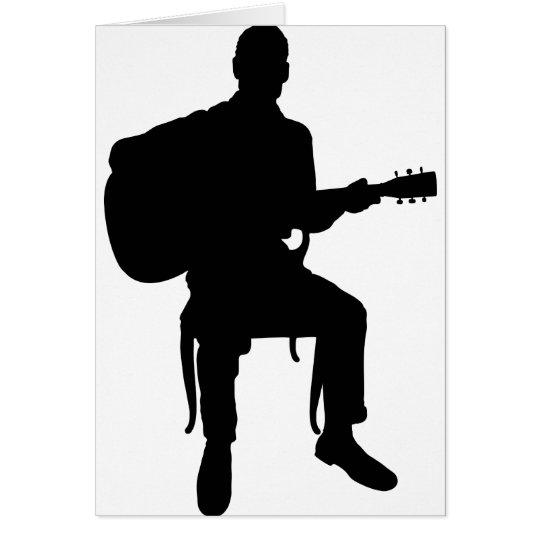 Guitar Man Card