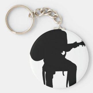 Guitar Man Keychain