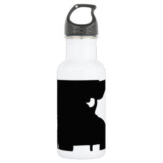 Guitar Man Stainless Steel Water Bottle